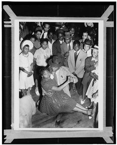 Central Avenue Series, African American club-goers with couple dancing in Los Angeles, Calif. Lindy Hop, Swing Dancing, Josephine Baker, Jazz Club, African Diaspora, Thing 1, Interesting History, Before Us, African American History
