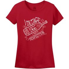 Items similar to Birthday Gift For Men and Women Vintage 1966 Aged To Perfection A Great Year Born in the Sixties T-shirt Grandmother Grandfather on Etsy 50th Birthday Gifts For Men, 50 And Fabulous, Vintage Ladies, Trending Outfits, Handmade Gifts, Mens Tops, Etsy, Women, Fashion