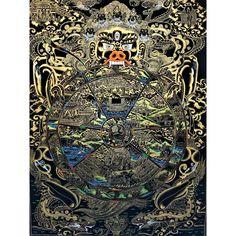 Mandalas & More– Artoftibet Buddhist Teachings, Buddhist Art, Buddhism, Buddhist Wheel Of Life, Online Painting, Painting Art, Paintings, Thangka Painting, Mandalas