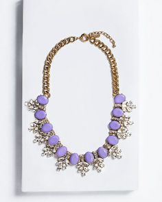 Frosted Lilac Necklace - Stylemint