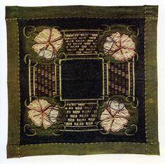 Ann Macbeth (1875-1948) - Embroidered Table Mat. Circa 1906.