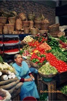 Markets in Santa Cruz Bolivia
