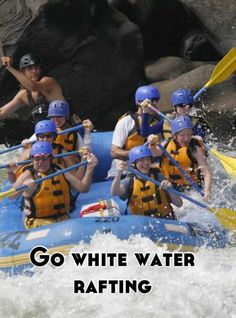 All of the things that could go wrong with white water rafting are terrifying but I still want to try it