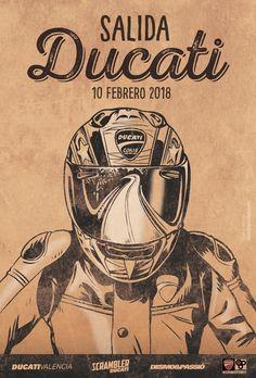 Imagen Salida Ducatistas Ducati Desmo, Scrambler, Darth Vader, Fictional Characters, Studio, Fantasy Characters