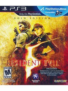 Capcom Resident Evil 5 Gold Edition - PS3