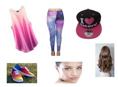 """""""Out with friends"""" by elena-dragomir ❤ liked on Polyvore"""