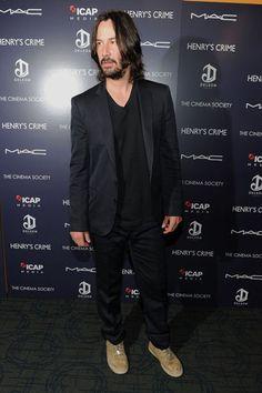 Keanu Reeves. Henry's Crime premiere. NYC Apr11