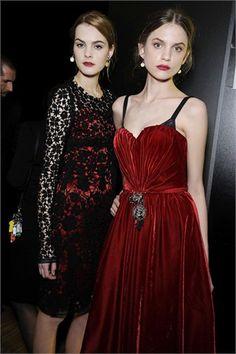 red velvet- omg that dress.