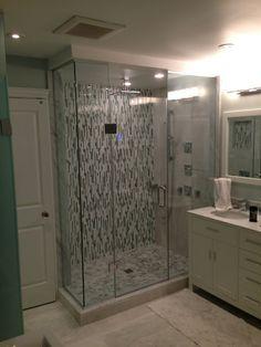 glass shower enclosure Enclosures, Alcove Bathtub, Glass Shower, Enclosure, Bathroom, Glass Shower Enclosures, Glass, Bathtub
