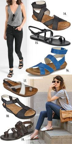 Sustainable summer sandals