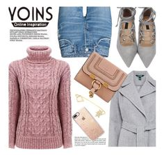 """YOINS.com"" by monmondefou ❤ liked on Polyvore featuring Lauren Ralph Lauren, Chloé, Casetify and yoins"