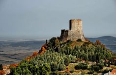 """Castiglione D'Orcia, Tuscany - Rocca di Tentennano (credits to """".... man_giu.... """")"""