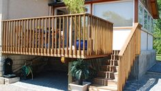 Geländer für Außenbereich / Holz / Einfahrts Barren / für Plattform - GARDE-CORPS - Groupe grad