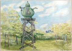 Lukas Duwenhögger, The Celestial Teapot, Proposal for a memorial site for the persecuted homosexual