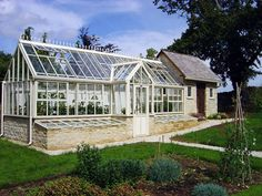 Bespoke Victorian three quarter span lean-to Glasshouse by HartleyBotanic, via Flickr
