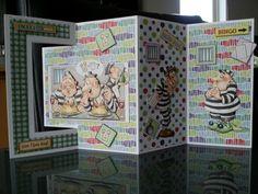 Leuke boevenkaart gemaakt door marij en getekend door mary rahder