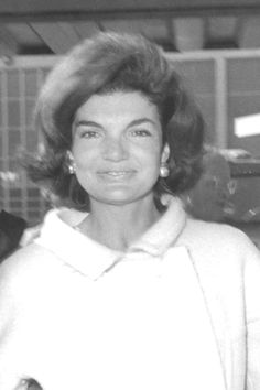 "Jacqueline Kennedy Onassis, (née Jacqueline Lee ""Jackie"" Bouvier; pronounced /ˌˈdʒækliːn ˈliː ˈbuːvieɪ/;[1] July 28, 1929 – May 19, 1994), was the wife of the 35th President of the United States, John F. Kennedy, and First Lady of the United States during his presidency from 1961 until his assassination in 1963. ❤✮❤✮❤✮❤  http://en.wikipedia.org/wiki/Jacqueline_Kennedy_Onassis"