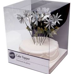 Wilton Flower Pick Cake Topper from amishconnergiftshop for $15.99 on Square Market