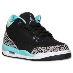 Girls' Grade School Air Jordan Retro 3 Basketball Shoes