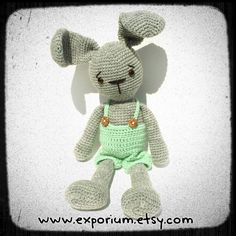 #amigurumi #bunny @ezporium.au #etsy #exporiumonetsy #handmade #crochet