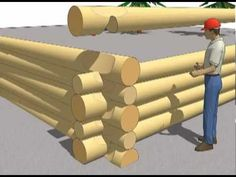 Comment construire une cabane en rondins? Par ici… – L'Humanosphère