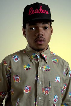 Interview 103  — Chance The Rapper shot by Richard Kern. http://oystermag.com/interview-chance-the-rapper