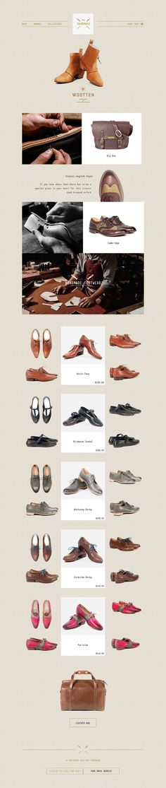 Handmade - #ecommerce Web Sites on Behance