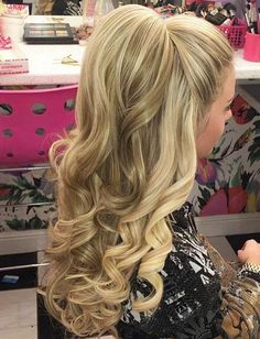 36 Cute Half Ponytail Hairstyles You Need to Try - EcstasyCoffee
