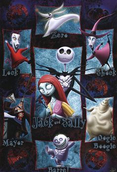 *NIGHTMARE BEFORE CHRISTMAS, 1993