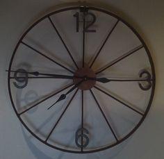 Wagon Wheel Wall Decor wagon wheel bench | wood & metal home decor | pinterest | wagon
