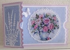 Beautiful Handmade Cards, Cute Cards, Birthday Cards, Decorative Plates, Card Making, Greeting Cards, Embroidery, Frame, Ticket