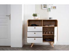 Buffet design 105 cm frêne KYOTO - Kyoto, Buffet Design, Nightstand, Shelving, Table, Furniture, Home Decor, Ideas, Sideboard
