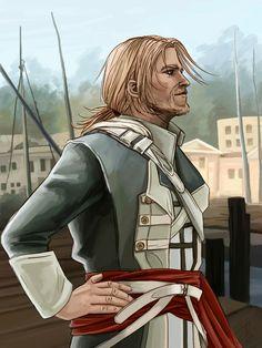 Captain Kenway by Leliumoj #AssassinsCreed