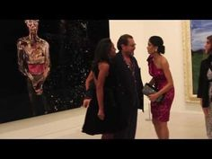 Exclusive: Julian Schnabel Previews Art Exhibit after Miral Premiere at the Art Gallery of Ontario - YouTube