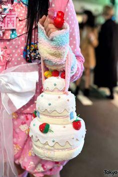 bolsa en forma de pastel