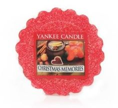 Yankee Candle Christmas Memories Wax Tart from Yankee Candle