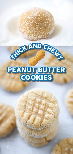 These Cake Mix Peanut Butter Cookies are ultra-rich in flavor, soft, chewy, easy to make, and topped with a sweet sugar coating. Cake Mix Desserts, Cake Mix Cookies, Cake Mix Recipes, Cookie Desserts, Yummy Cookies, Fun Desserts, Dessert Recipes, Delicious Cookie Recipes, Sweet Recipes
