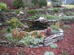 Th Front Pond Is Your Welcome In The Yard We Terraced And Used