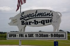 Sweatman's BBQ    Holly Hill SC