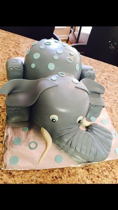 DIY Baby Shower Ideas for Boys Elephant cakes Cake and Ideas party