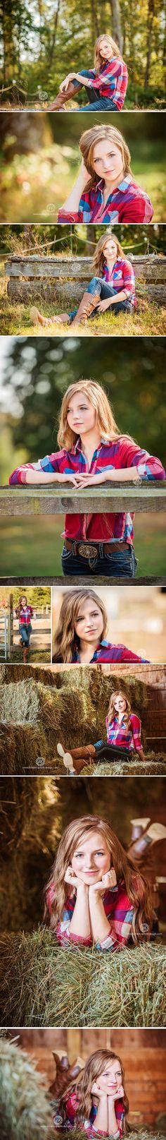 Country Senior Photo Sеssion with Inna || Seattle Senior Photographer » Katerina Fortygin Photography and Design