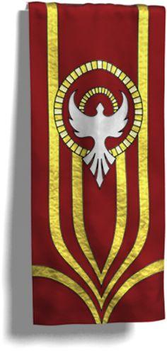 Ascending Dove - Pentecost Banner by Ecclesiastica Design Studio