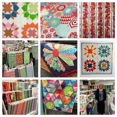 A few details in @kimbradleycreations beautiful shop! Gorgeous! #redletteraustralia #quiltabout   Flickr - Photo Sharing!