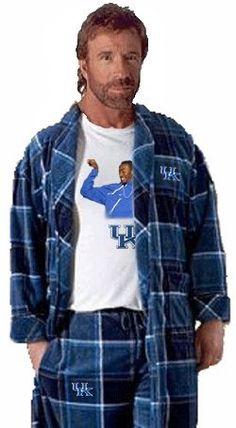 Chuck Norris UK Kentucky basketball John Wall