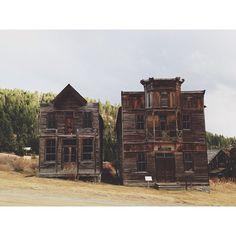 Ghost Town, Elkhorn, Montana, USA