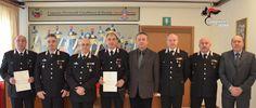Isernia arresto rapinatori anziani: premiati i Carabinieri del Comando Provinciale