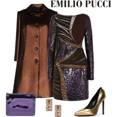 Emilio Pucci Dress by romaboots-1 on Polyvore featuring Emilio Pucci, Dolce&Gabbana, Yves Saint Laurent, Marc by Marc Jacobs and Michael Kors