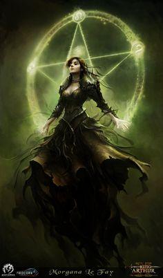 Morgana Le Fay - King Arthur II game art