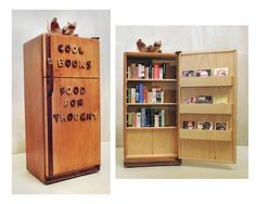 Cool Books Food for Thought -http://bookriot.com/2015/09/01/19-rad-bookshelves-home-dream-home/
