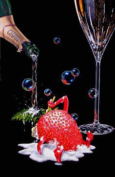 Champagne - Michael Godard